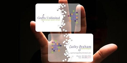 grafix business card