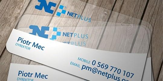 netplus id business card