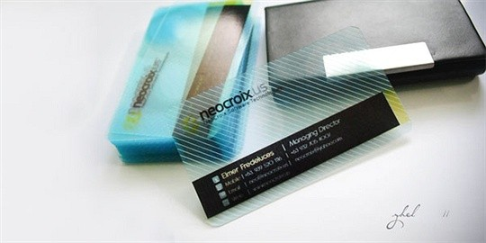 neocroix business card