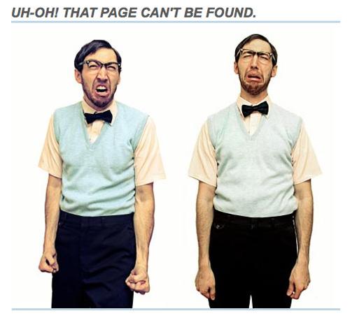 patterntap 404 error pages