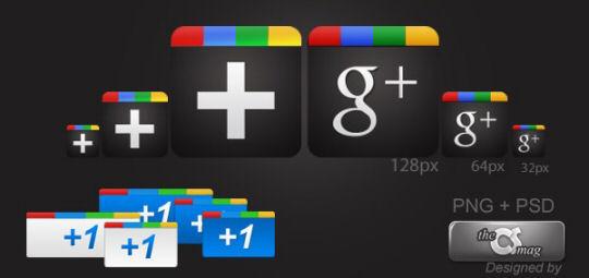 Google Plus Free Icon Pack