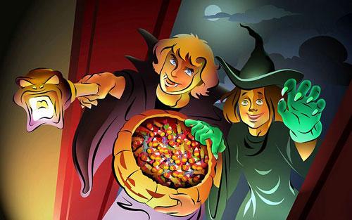 Halloween Haunts Wallpaper
