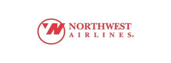 northwest airlines logo with hidden messages