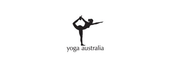 yoga australia logo with hidden messages