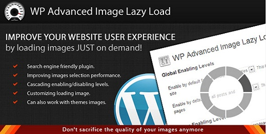 WordPress Advanced Image Lazy Load (Premium) WordPress Plugin
