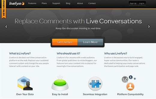 Livefyre WordPress Plugin