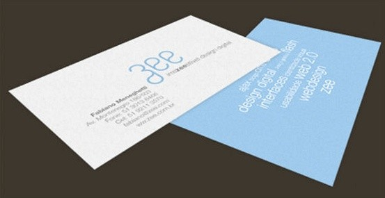 creating a new web 2.0 business card