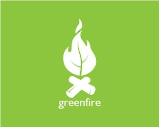 Greenfire Logo Design