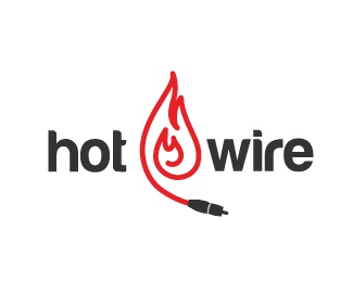 Hot Wire Cables Logo Design