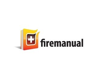 Fire Manual Logo Design