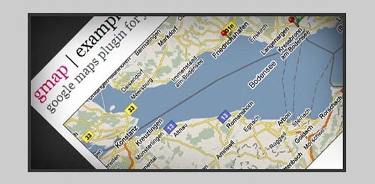embed custom google maps with gmap jquery plugin