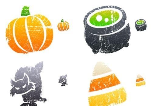 litho halloween