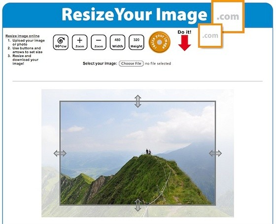 resize your image online