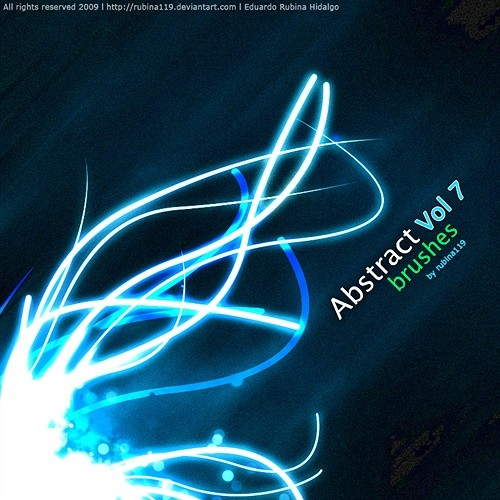 abstract brushes vol 7