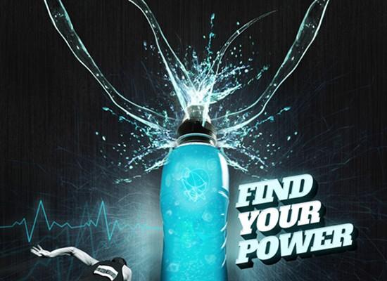 energy drink advertisement