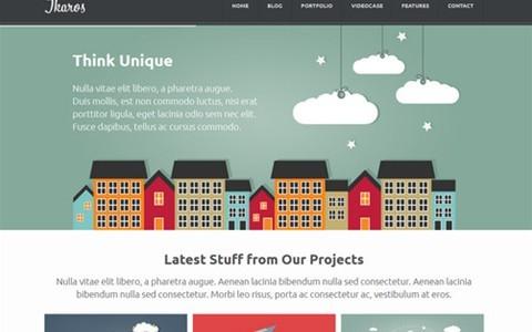 ikaros – responsive wordpress business & portfolio