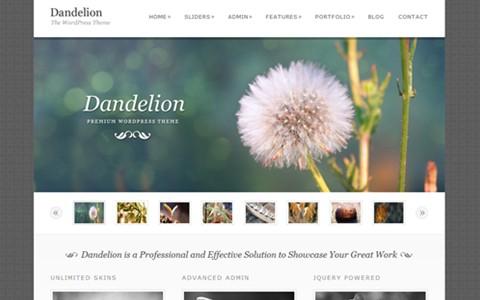 dandelion – elegant wordpress theme