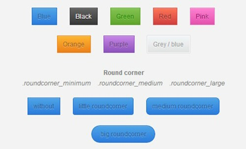 animated button element – css3
