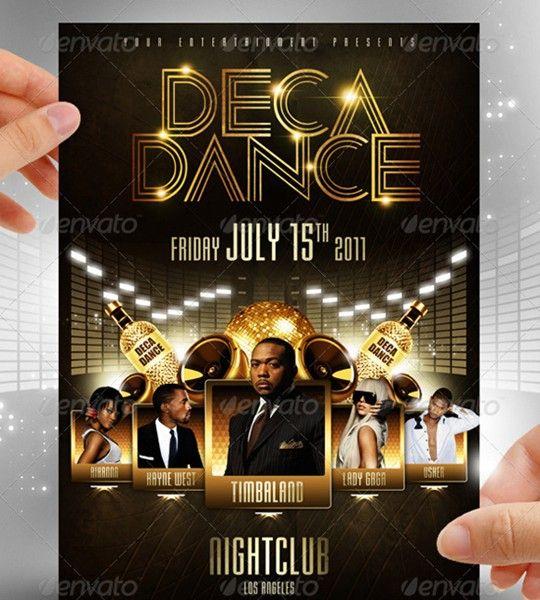 deca dance flyer
