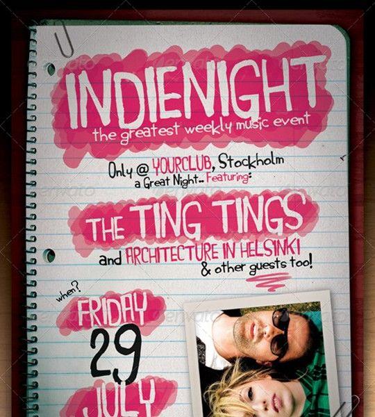 indie flyer/poster vol. 6