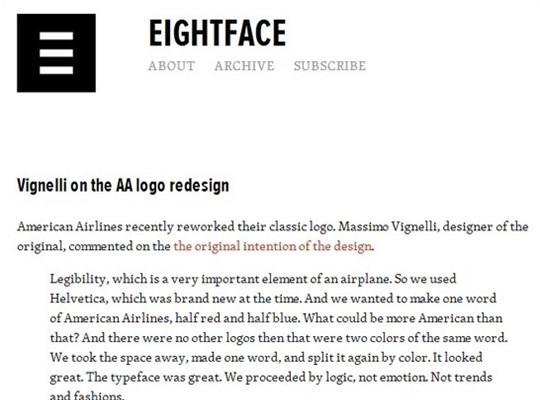 eight face
