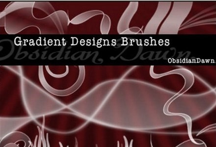 gradient designs brushes