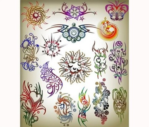 brushes tattoos for photoshop