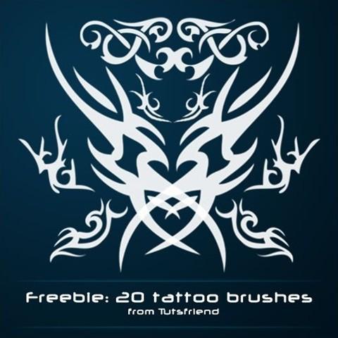 tattoo photoshop brushes