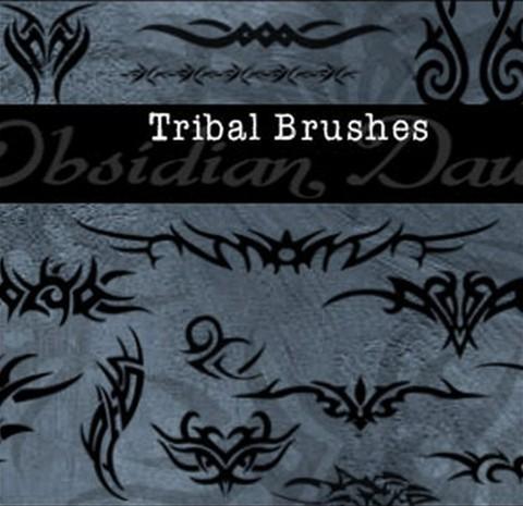 tribal photoshop brushes