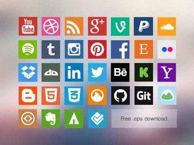 free social media icons - allan mcavoy