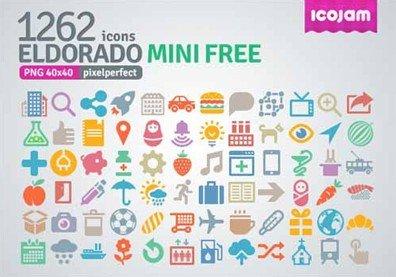 eldorado mini free icons