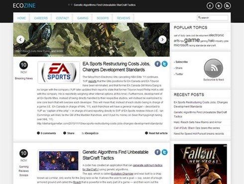ecozine gaming blog