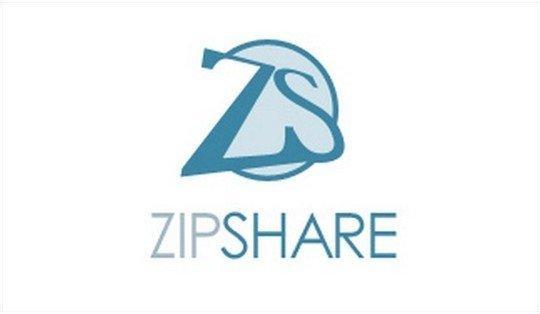 zip share logo - logo psd file