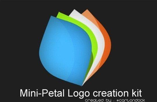 petal logo creation kit - logo psd file