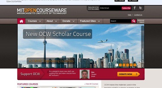 Mit Opencourseware | Free Online Course Materials