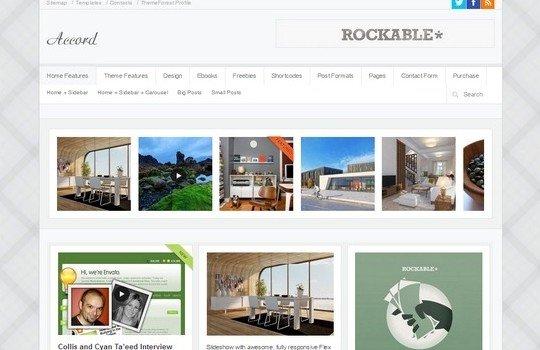 Accord – Responsive WordPress Blog Theme