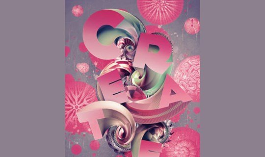 create 3d type art using Photoshop cs5