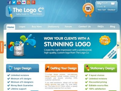 Top 10 Custom Logo Design Service Providers 2014