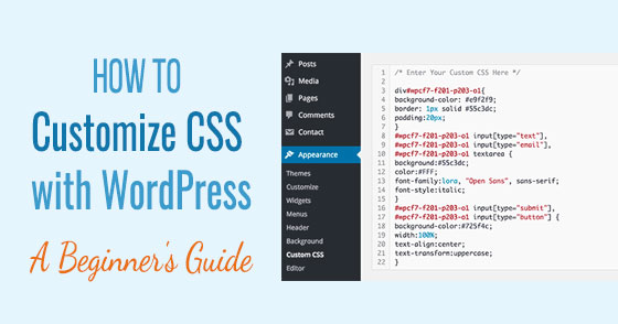Beginners Guide: How to customize CSS with WordPress