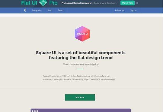 square ui (personal license : $39)