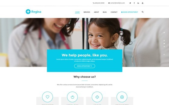 regina lite free wordpress theme