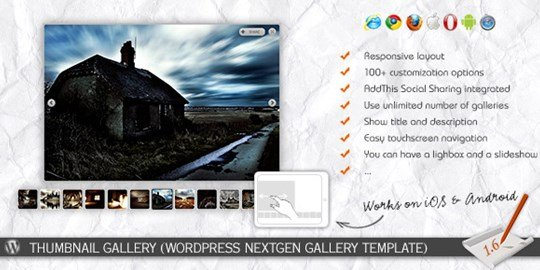 thumbnail gallery (wp nextgen gallery template)