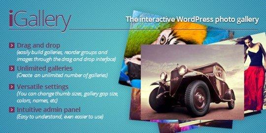 igallery - interactive wordpress photo gallery