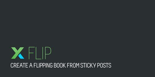 xflip flip book wordpress plugin