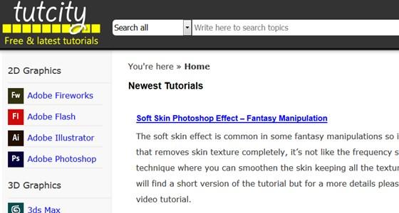 tutcity – free tutorials directory