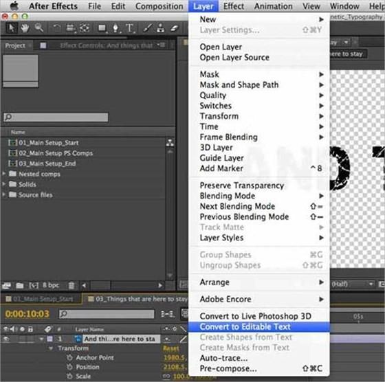 Creating Typography Animation Using Photoshop