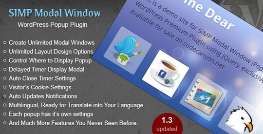 Simp Modal Window