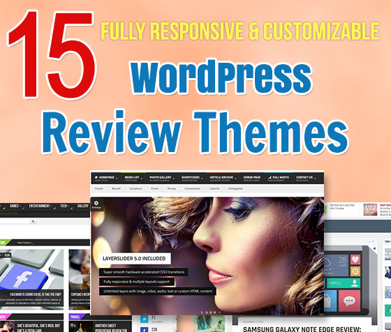 15 Top Quality WordPress Review Themes