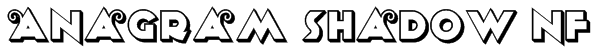 Anagram Shadow NF Font