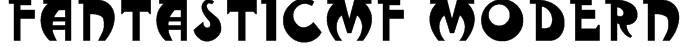 FantasticMF Modern Font